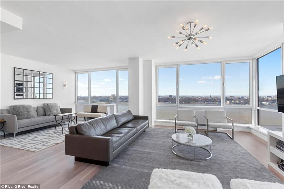 Two tickets to SPACE are thrown into sale of $85million Manhattan condo which also includes two Rolls Royces, summer mansion in the Hamptons, a Lamborghini, courtside Nets seats after it fails to sell