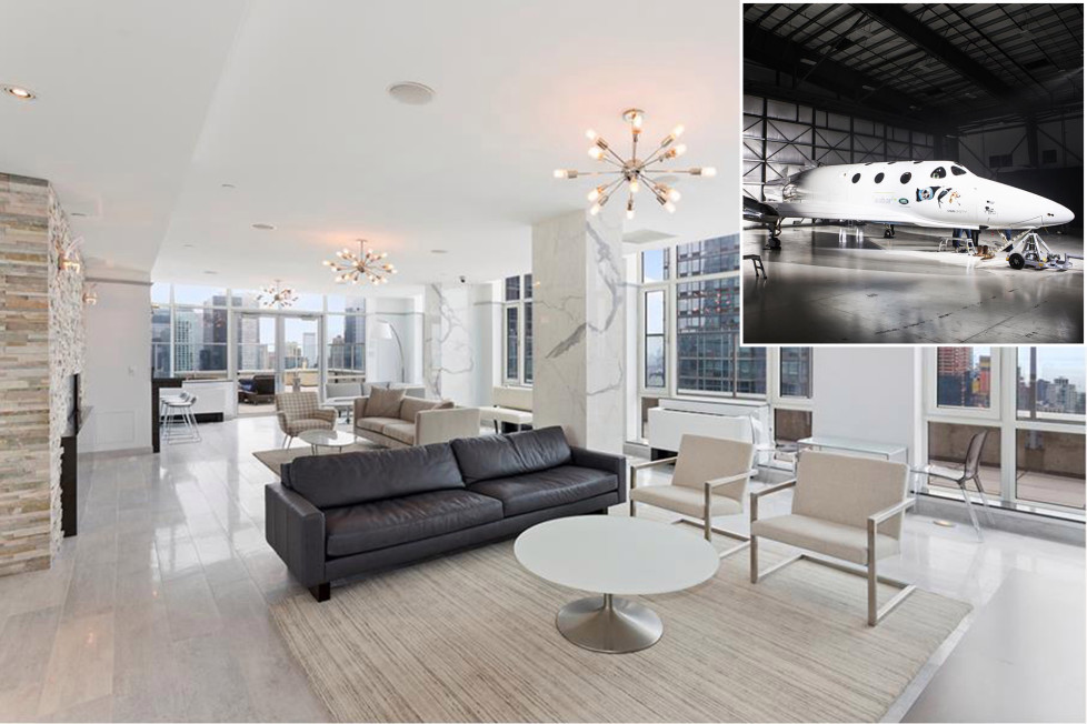 This $85M apartment comes with Rolls-Royces and a trip to space